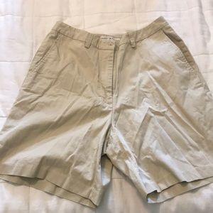Tommy Hilfiger khaki golf shorts size 10
